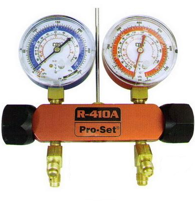 การวัดความดันน้ำยาแอร์ R410a จะใช้เกจ์ของ R 22 ได้ไหม