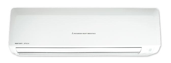แอร์มิตซู เฮฟวี้ดิวตี้ HD JET Flow เทคโนโลยีระบายอากาศ ที่ส่งลมได้ไกลที่สุด