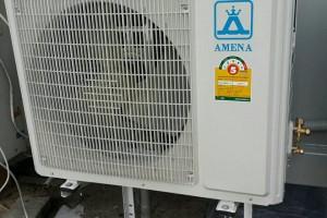 ติดตั้งแอร์ AMENA 18000 BTU ทั้งเย็น ทั้งเงียบ