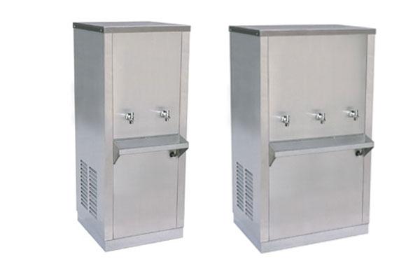 ตู้ทำน้ำร้อน น้ำเย็น ยี่ห้อ MaxCool แบบต่อท่อประปา (หน้าเรียบ)
