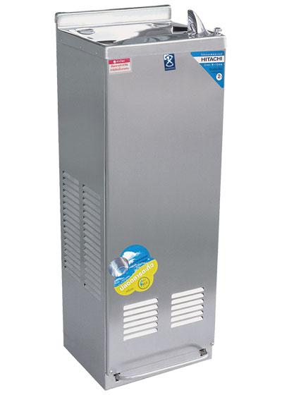 ตู้ทำน้ำเย็น 1 ก๊อก ระบบปิด ไม่มีงวง รุ่นเท้าเหยียบ