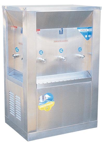 ตู้น้ำเย็น 3 ทิศ ระบบเปิด 7 ก๊อก ตำแหน่งก๊อก 2-3-2