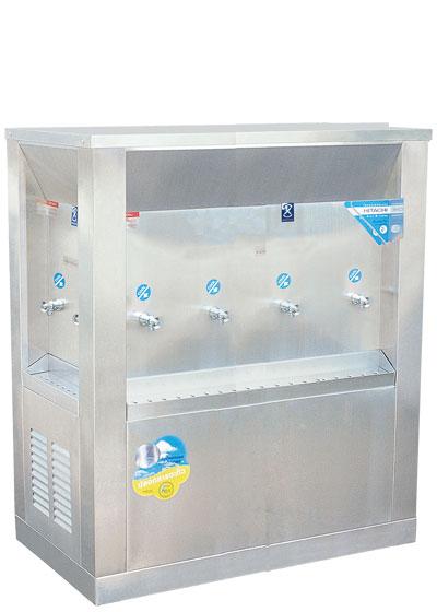 ตู้น้ำเย็น 3 ทิศ ระบบเปิด 8 ก๊อก ตำแหน่งก๊อก 2-4-2