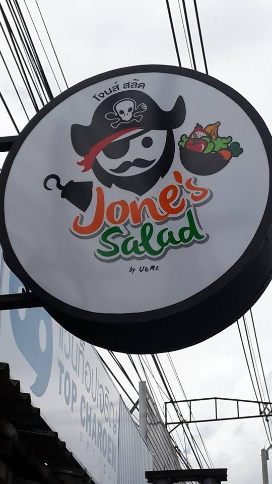 ติดแอร์เซ็นทรัลแอร์ ขนาด 25000 BTU ที่ร้าน Jone's Salad หลังมช