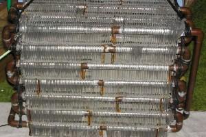 อุปกรณ์แลกเปลี่ยนความร้อนแบบคอยล์ (Coil Loop Exchanger)