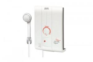 เครื่องทำน้ำอุ่น Sharp รุ่น WH-HOT HOT ร้อนกว่าด้วย Watt เท่าเดิม