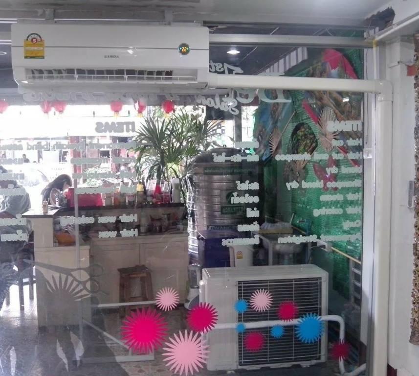 ติดตั้งแอร์ Amena 18000 BTU ร้านเสริมสวยสตาร์ซิก