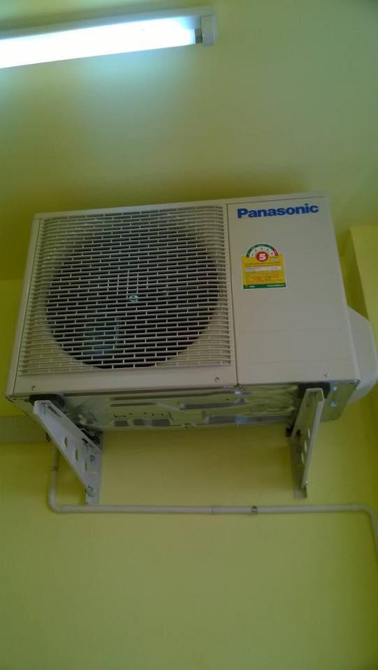 ติดตั้งแอร์ Panasonic 2 ชุด ที่บ้านลูกค้า อ.ดอยสะเก็ด เชียงใหม่