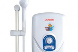 เครื่องทำน้ำอุ่น Joven EC-802 ดีไซน์เรียบ เหมาะกับห้องน้ำทุกรูปแบบ
