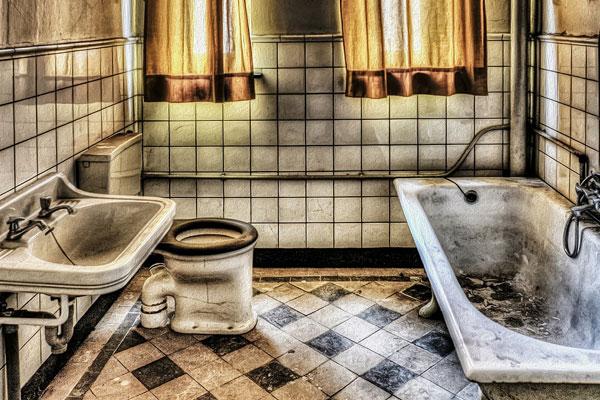วิธีแก้ไขปัญหา กรณีวัสดุอุปกรณ์ ภายในห้องน้ำเสื่อมสภาพ