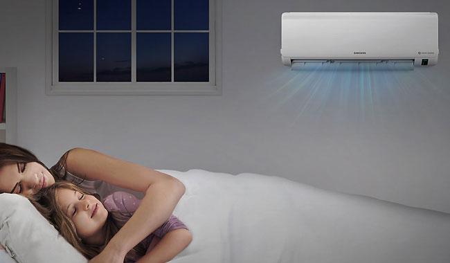 แอร์ Samsung รุ่น AR5400M แบบ Inverter ให้ได้ความเย็น และทำความร้อน