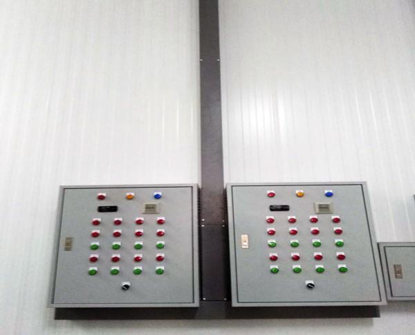 ผลงานก่อสร้างห้องเย็น พร้อมติดตั้งเครื่องทำความเย็น บริษัท ไทยหม่านอี้ จำกัด