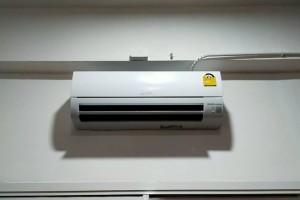 ผลงานการติดตั้ง แอร์ Mitsubishi รุ่น Happy Inverter