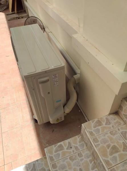 ผลงานติดตั้งแอร์ Fujitsu Inverter รุ่น I-Sense มีดวงตาอัจฉริยะ บ้านคุณหมอมินท์
