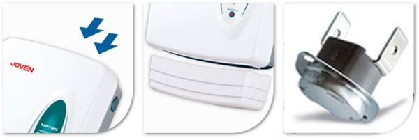 เครื่องทำน้ำร้อน JOVEN แบบหลายจุด 7000 วัตต์ รุ่น MP960 เหมาะสำหรับอ่างอาบน้ำ