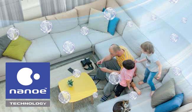 แอร์ Panasonic รุ่น Healthy nonoe รวมเทคโนโลยีนาโนอี เทคโนโลยีเพื่อสุขภาพ ECO A.I.