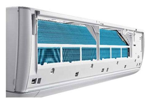 แอร์ Panasonic รุ่น ECO เย็นสบาย กระจายลมเย็นจากด้านบน Shower Airflow