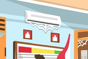 7 ความเข้าใจผิดของการใช้เครื่องปรับอากาศ ยิ่งทำ ค่าไฟยิ่งสูง