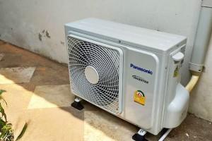 ผลงานการติดตั้ง Panasonic รุ่น ECO Inverter