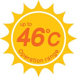 ทำความเย็นได้ แม้อากาศจะร้อนมาก