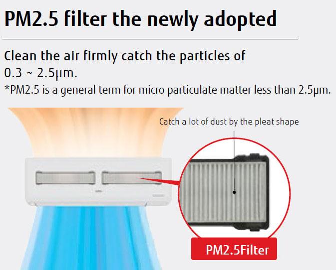 แอร์ Fujitsu รุ่น iCool แบบ Inverter กันฝุ่น PM2.5 ทนความร้อนสูง เหมาะบ้านที่ร้อนจัด ห้องที่โดนแดด
