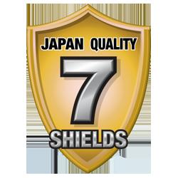 Japan Quality 7 Shields