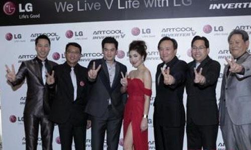 LG ผลิตภัณท์ใหม่ แอร์อินเวอร์เตอร์รุ่น ARTCOOL Inverter V