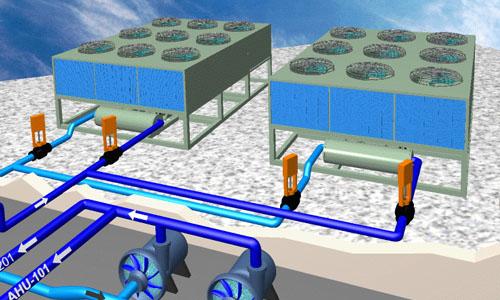กระบวนการทำความเย็นในโรงงานอุตสาหกรรม