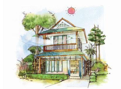 19 วิธีออกแบบ ป้องกันบ้านร้อน ประหยัดค่าแอร์