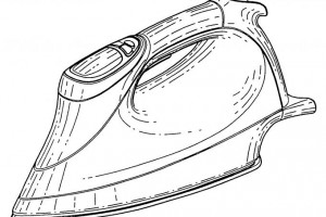 ส่วนประกอบของเตารีดไฟฟ้าอัตโนมัติ (Automatic electric iron)