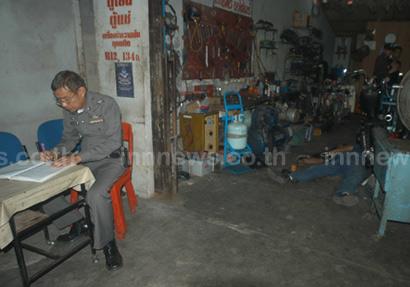 จ่อยิงหัว เจ้าของร้านซ่อมแอร์ ในตัวเมืองสงขลา ตายคาที่