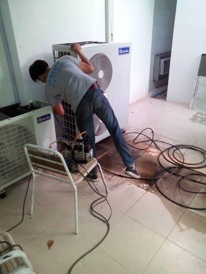 ผลงานล้างแอร์บ้าน ล้างแอร์เชียงใหม่แบบโหด
