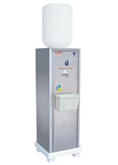 เครื่องทำน้ำเย็น แบบถังคว่ำ 1 ก๊อก รุ่นเล็กใช้ภายใน