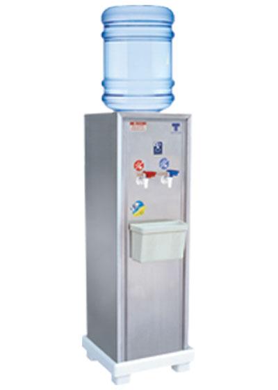 เครื่องทำน้ำเย็น-ร้อน แบบถังคว่ำ 2 ก๊อก รุ่นเล็กใช้ภายใน
