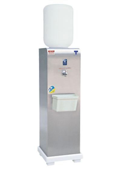 เครื่องทำน้ำเย็น แบบถังคว่ำ 1 ก๊อก รุ่นเรียบใช้ภายใน