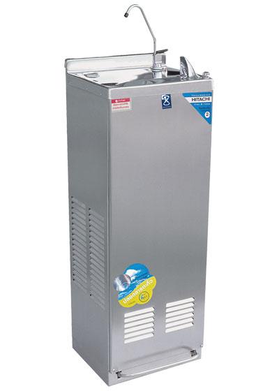 ตู้ทำน้ำเย็น 1 ก๊อก ระบบปิด มีงวง รุ่นเท้าเหยียบ