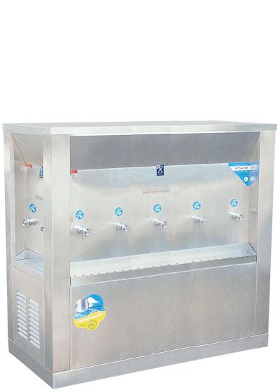 ตู้น้ำเย็น 3 ทิศ ระบบเปิด 9 ก๊อก ตำแหน่งก๊อก 2-5-2