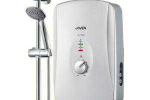 เครื่องทำน้ำอุ่น Joven – SL30e รุ่น Top Class มาพร้อมฝักบัวสไตล์โครเมี่ยม