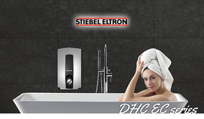 เครื่องทำน้ำร้อน Stiebelel รุ่น DHCE Series ทำงานด้วยระบบไฮดรอลิค