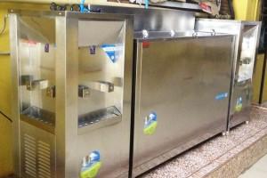 ภาพผลงานการติดตั้ง ตู้กดน้ำร้อน ตู้กดน้ำเย็น