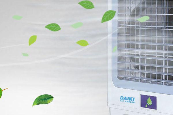 พัดลมไอเย็น ทางเลือกใหม่เพื่อการคลายร้อน เย็นสบายนอกห้องแบบประหยัดไฟ