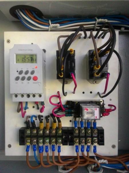 ผลงานติดตั้งแอร์ Carrier Inverter พร้อมทามเมอร์ สลับเวลาการทำงาน