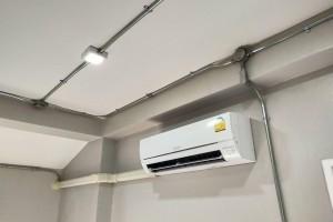 ผลงานการติดตั้ง Mitsubishi Electric รุ่น Super Inverter