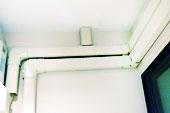 รางครอบท่อแอร์ แบบ PVC ยาว 4 เมตร