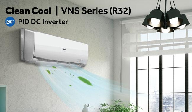 แอร์ Haier รุ่น Clean Cool มีระบบ Inverter สามารถทำความสะอาดตัวเอง และประหยัดพลังงานสูงสุด