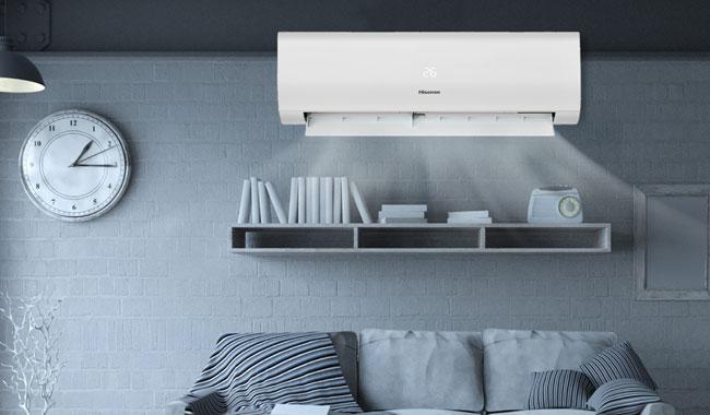 แอร์ Hisense แบบ Inverter รุ่น KA Series ระบบ Super Cooling เย็นเร็วแม้ว่าอุณหภูมิจะสูง