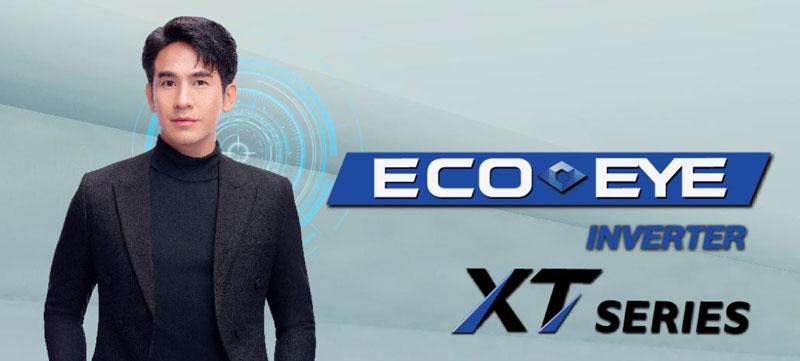 แอร์ Mitsubishi รุ่น ECO-EYE แบบ Inverter XT Series เย็น ประหยัดไฟ กรองฝุ่น PM 2.5