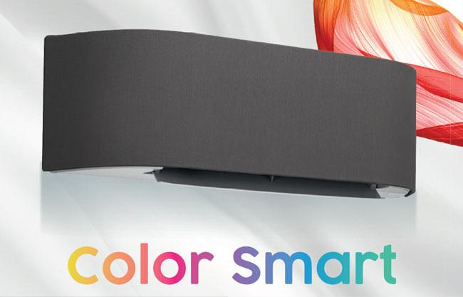 แอร์ Carrier รุ่น Color Smart ดีไซน์สุดล้ำ แอร์เปลี่ยนสีได้ (หน้ากากผ้า) สวยงามลงตัว ทุกรูปแบบห้อง