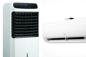พัดลมไอเย็น VS แอร์ (เครื่องปรับอากาศ) มีจุดเด่น และจุดด้อย แตกต่างกันอย่างไร