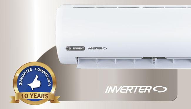 แอร์ Eminent รุ่น Premium First Class แบบ Inverter ประหยัดไฟสูงสุด ออโต้สวิง 4 ทิศทาง